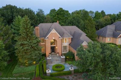 Northville Single Family Home For Sale: 17892 Stonebrook Crt