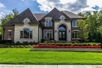 Novi Single Family Home For Sale: 22549 Montebello Crt