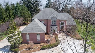 Northville Single Family Home For Sale: 20760 Turnberry Blvd