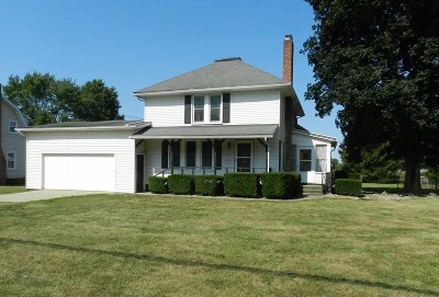 Single Family Home For Sale: 6352 Palmyra Road
