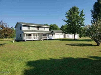 Branch County Single Family Home Contingent - Financing: 1010 Ralston Rd