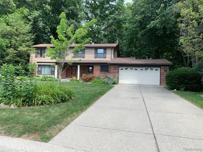 Farmington Hill Single Family Home For Sale: 25012 Skye Dr