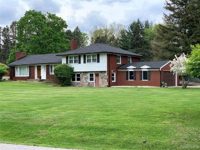 Southfield Single Family Home For Sale: 25648 Forestview Dr