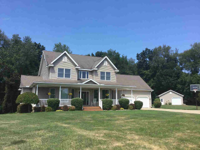 Jonesville Single Family Home For Sale: 1398 White Clover Dr