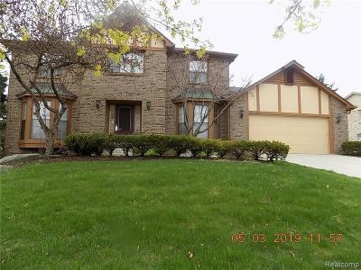 Farmington Hill Single Family Home For Sale: 25493 Bridlepath Ln