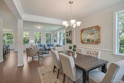 Novi Condo/Townhouse For Sale: 24008 Seminole Crt