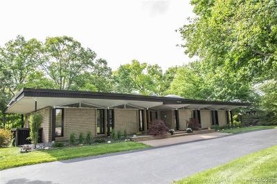 Southfield Single Family Home For Sale: 28401 River Crest Dr