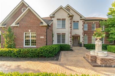 Novi Single Family Home For Sale: 47450 Cheltenham Dr