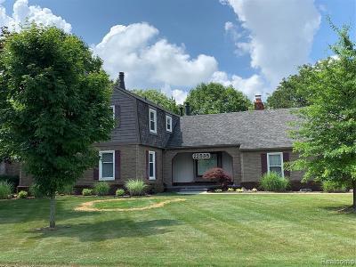 Farmington Hill Single Family Home For Sale: 22535 Shadowglen Dr