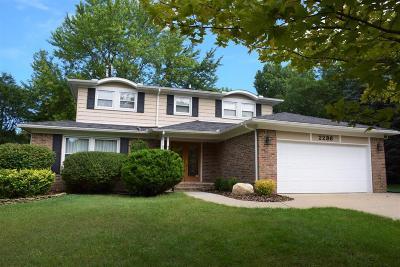 Ann Arbor Single Family Home For Sale: 2236 Placid Way