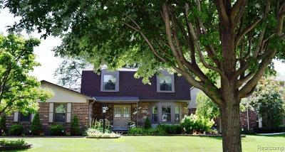 Canton Single Family Home For Sale: 44713 Kirk Crt