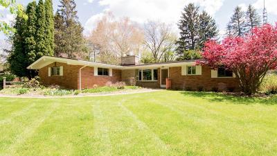 Ann Arbor Single Family Home For Sale: 2776 Wagner Ct