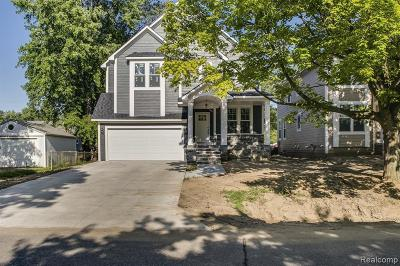Plymouth Single Family Home For Sale: 9200 Marlowe