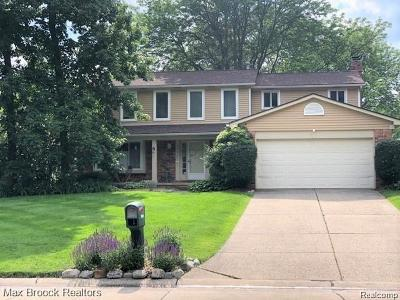 Farmington Hill Single Family Home For Sale: 35046 Valley Forge Drive