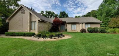 Brighton Single Family Home For Sale: 2727 Pineview Trl