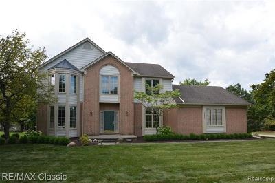 Farmington Hill Single Family Home For Sale: 36863 Ashover Dr