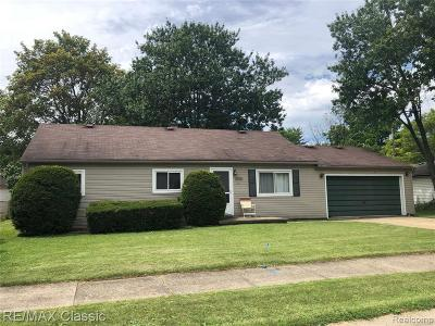 Farmington Hill Single Family Home For Sale: 22801 Albion Ave