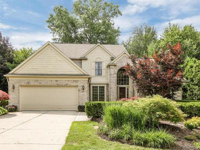 West Bloomfield Single Family Home Contingent - Financing: 1734 Mountain Ash Dr