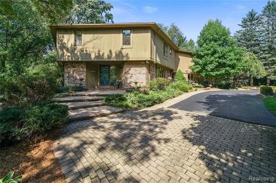 Plymouth Single Family Home For Sale: 47658 Norton Crt