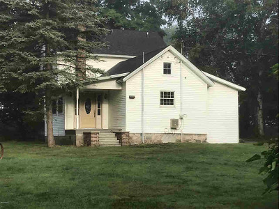Hillsdale Single Family Home For Sale: 4980 W Bacon Rd