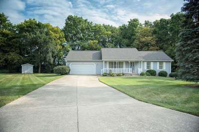 Lenawee County Single Family Home Contingent - Financing: 1300 S Buckingham Ct