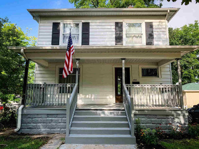 Hillsdale County Single Family Home Contingent - Financing: 102 Oak St