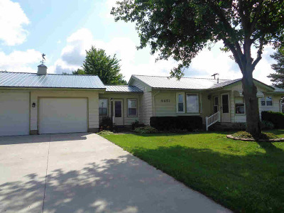Hillsdale County Single Family Home For Sale: 4451 N Jerome Rd