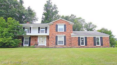 Farmington Hill Single Family Home For Sale: 28209 Danvers Dr