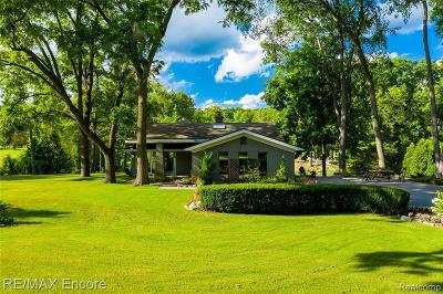Lake Orion Single Family Home For Sale: 222 W Greenshield Rd
