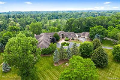 Ann Arbor Single Family Home For Sale: 5484 Meadowcrest Dr