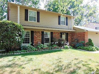 Southfield Single Family Home For Sale: 30266 Spring River Dr