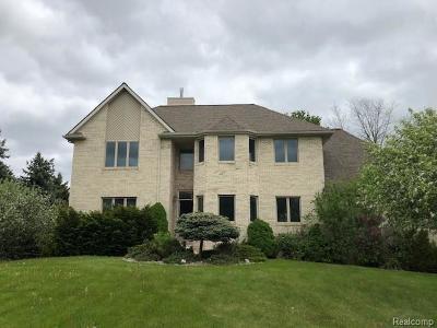 Farmington Hill Single Family Home For Sale: 34600 W 12 Mile Rd