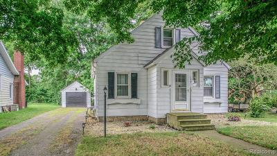 Grass Lake Single Family Home For Sale: 134 East Ave
