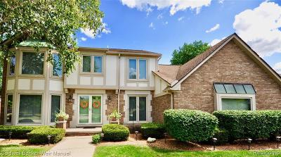 Farmington Hill Single Family Home For Sale: 37609 Meadowhill