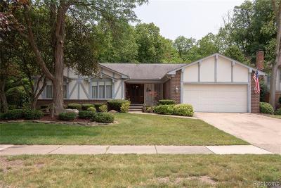 Livonia Single Family Home For Sale: 19860 Pollyanna Dr