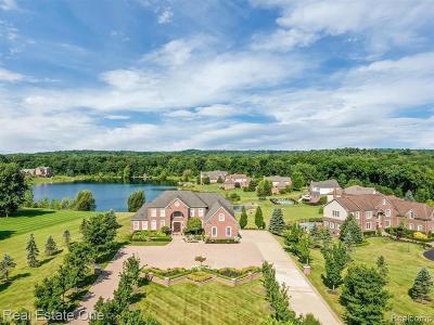 Milford Single Family Home For Sale: 3758 N Shoreline Dr