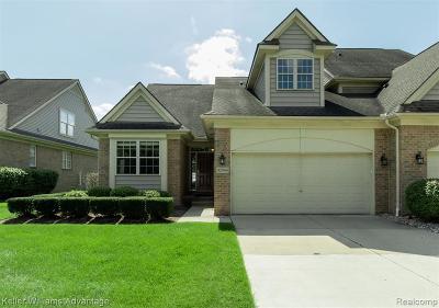 Livonia Condo/Townhouse For Sale: 32965 Brookside Cir
