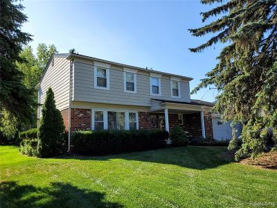 Lake Orion Single Family Home For Sale: 2839 Armstrong Dr
