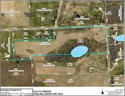 Clinton MI Residential Lots & Land For Sale: $69,900