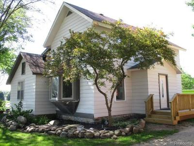 Milford Single Family Home For Sale: 1875 N Hickory Ridge Trl