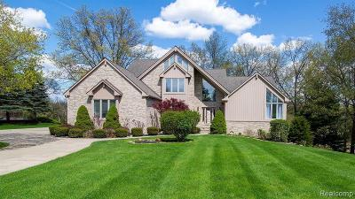 Brighton Single Family Home For Sale: 2502 Waterfront Dr