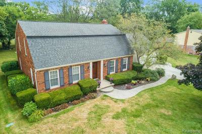 Northville Single Family Home For Sale: 20950 Eastfarm