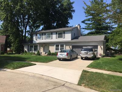 Livonia Single Family Home For Sale: 15407 W Blue Skies Crt