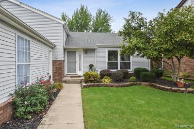 Canton Single Family Home For Sale: 42088 Greenwood Dr