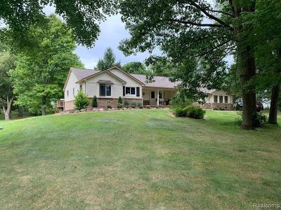 Milford Single Family Home For Sale: 1125 Manderly Dr