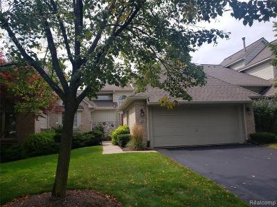 Northville Condo/Townhouse For Sale: 339 Saint Lawrence Blvd