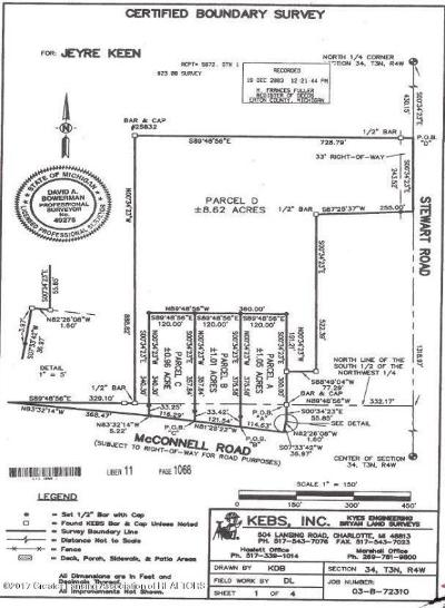 Charlotte Residential Lots & Land For Sale: McConnell Highway