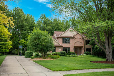 Okemos Single Family Home For Sale: 3520 Breezy Point Drive