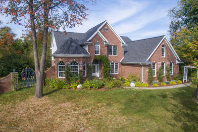 East Lansing Single Family Home For Sale: 6397 Ridgepond Place