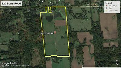 Haslett Residential Lots & Land For Sale: Vl Barry Road